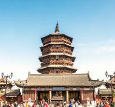 Wooden Pagoda, China