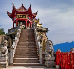 Jiuhua Shan, China