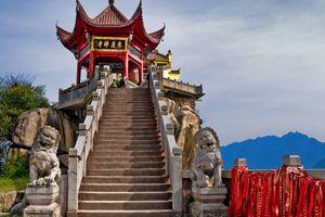Jiuhua Shan Image